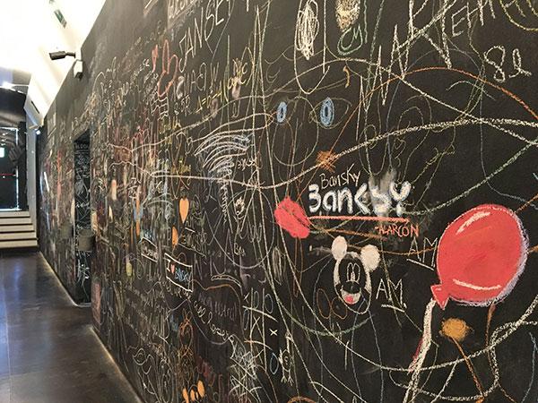 street art per bambini genova mostra Banksy
