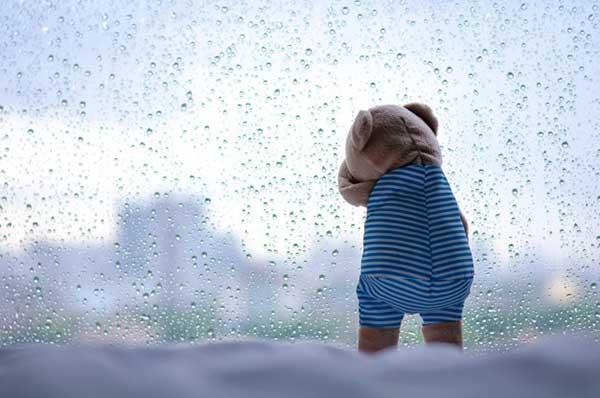 genova con la pioggia