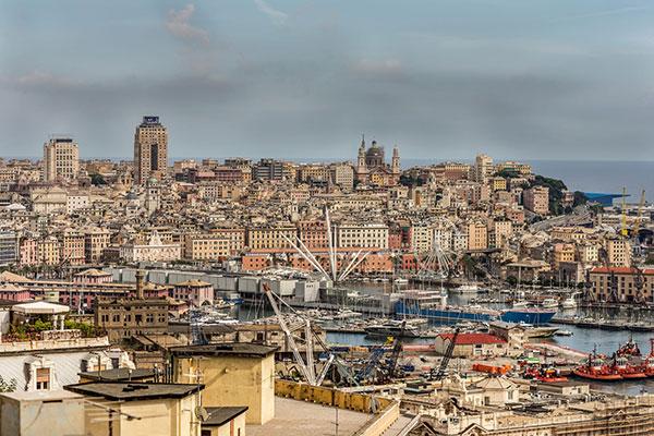 Genova dall'alto: i punti panoramici