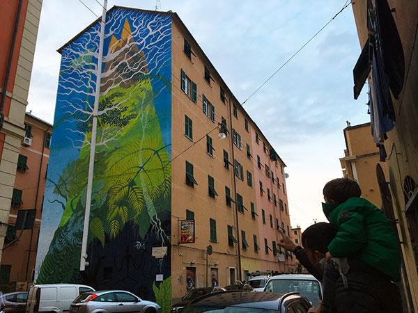 La Street Art a Genova: tour a piedi