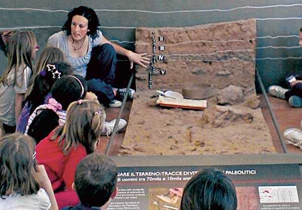 bambini archeologia finale ligure