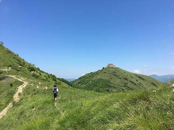 trekking famiglia liguria