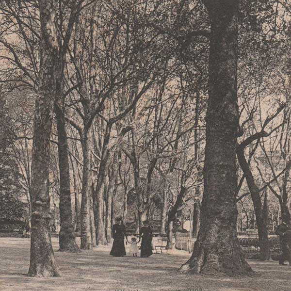 foto storica parco