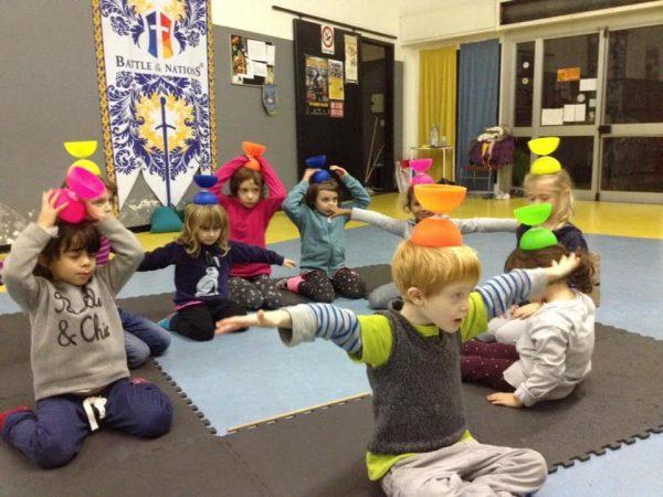 corsi bambini genova circo