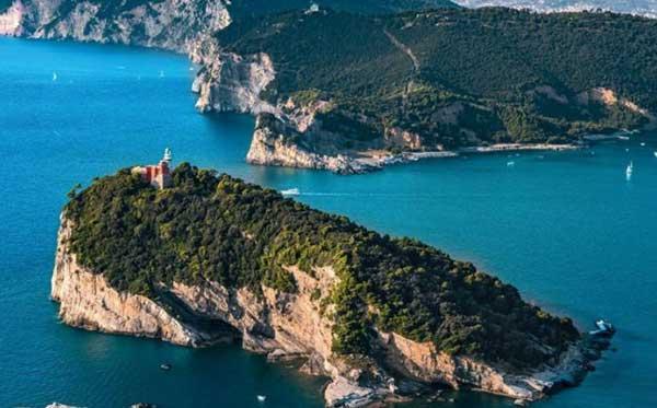 castelli liguria isola palmaria