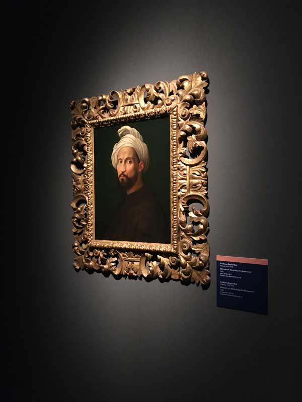 quadro ritratto Michelangelo Buonarroti