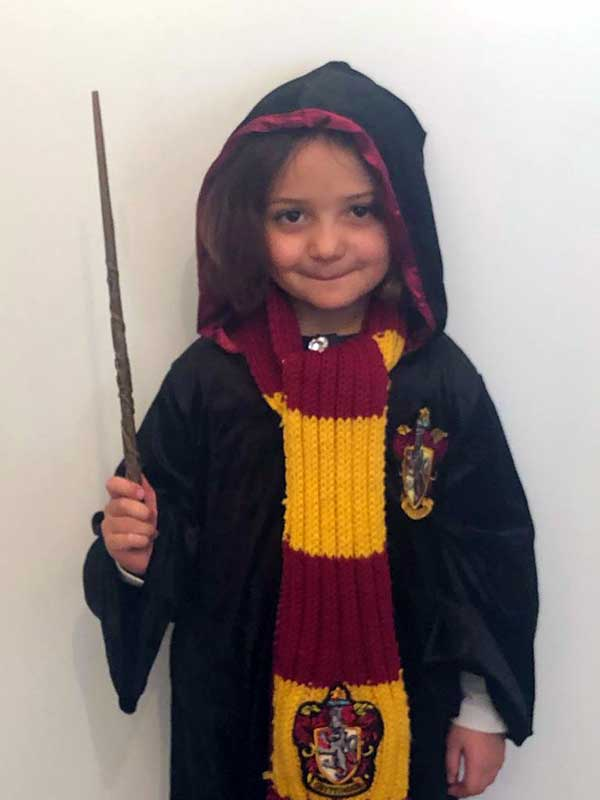 bambina harry potter