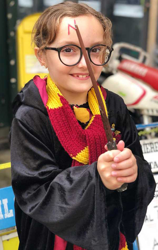 bambina harry potter genova