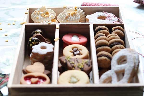 biscotti natale decorazioni
