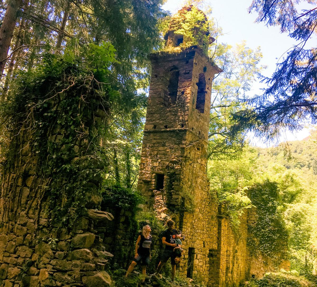 sopralacroce chiesa nel bosco val d'aveto