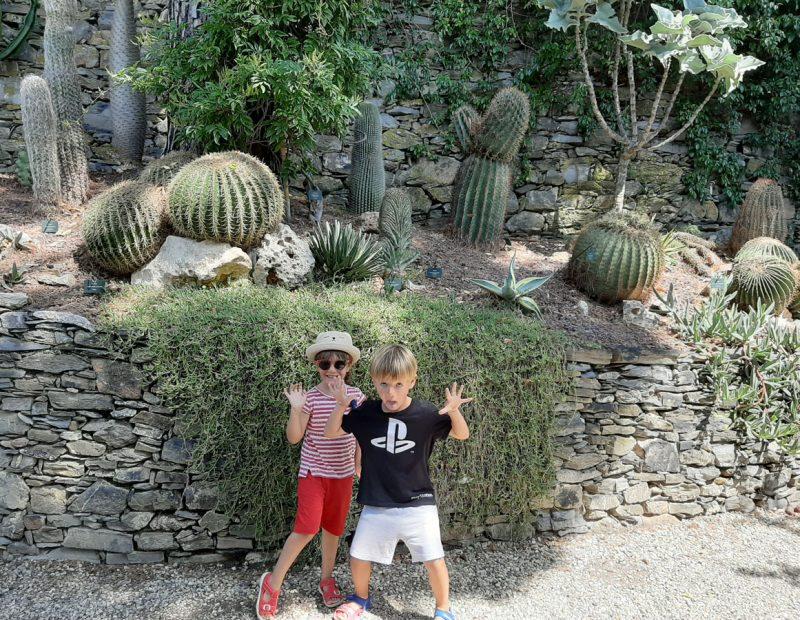 bambini giardini villa della pergola alassio