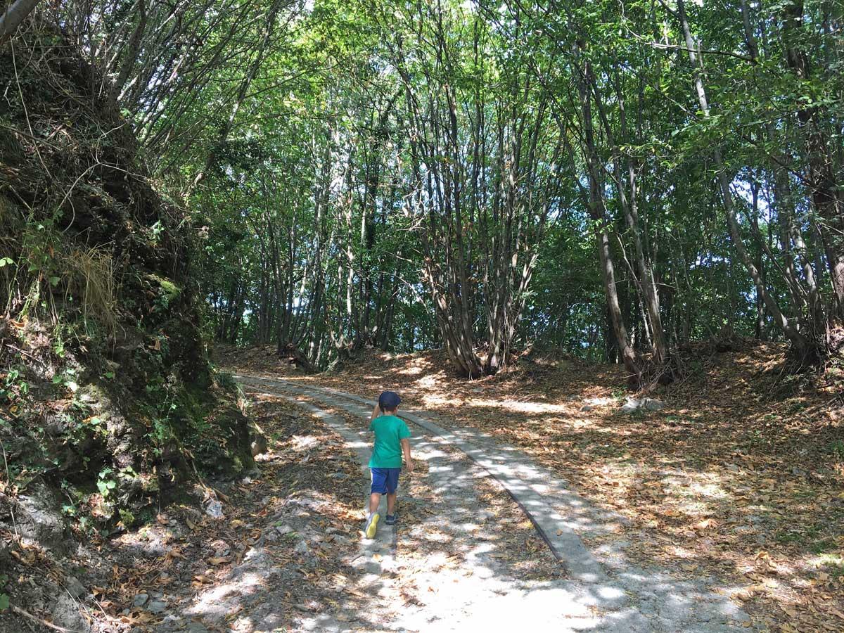 sentiero guidovia ceranesi