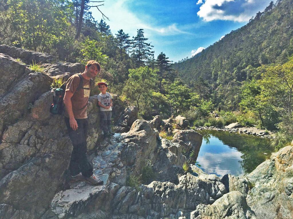 Trekking d'autunno al Lago della Tina